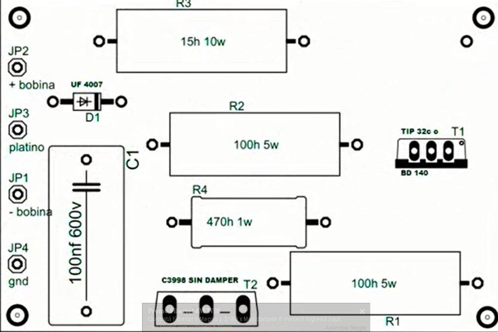como fabricar un encendido electronico para platino